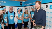 Großbritannien Prince Harry Kampagne Heads together (picture-alliance/Photoshot)