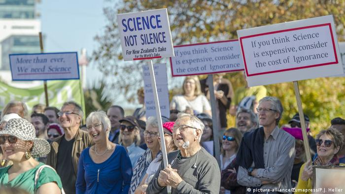 Neuseeland March for Science (picture-alliance/Zumapress/P.J. Heller)