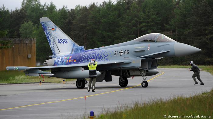 Deutschland Eurofighter Alarmstart (picture alliance/dpa/I. Wagner)