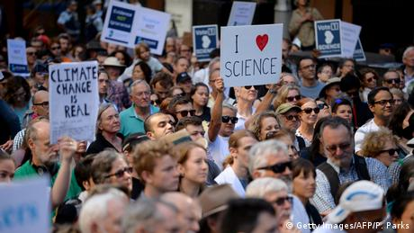 Australien March for Science (Getty Images/AFP/P. Parks)
