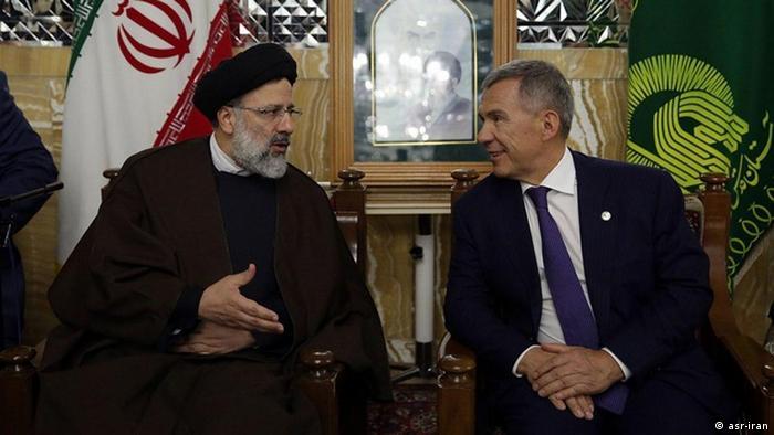 Iran - Ibrahim Raisi mit Putins Vertreter (asr-iran)