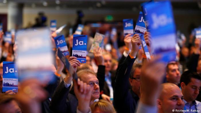 Deutschland Bundesparteitag der AfD in Köln