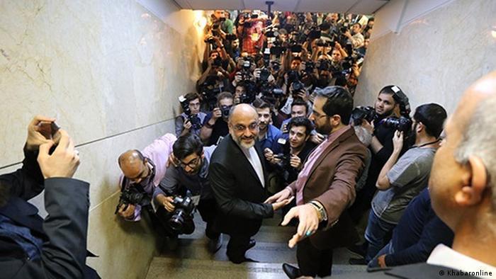 Iran - Wahlkampf Mehdi Khazali (Khabaronline)