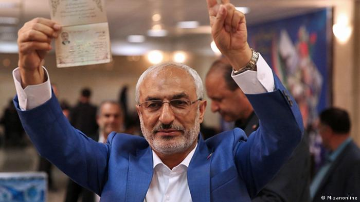 Iran - Wahlkampf Mohammad Mehdi Zahedi (Mizanonline)