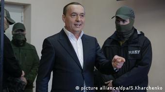 Миколу Мартиненка затримали детективи НАБУ, згодом суд відпустив його на поруки