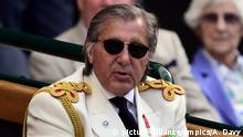 Ilie Nastase ehemaliger Tennis-Star (picture-alliance/empics/A. Davy)
