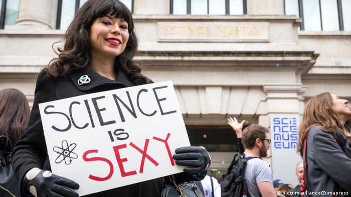 March for Science, London (picture alliance/Zumapress)