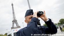 Paris vor der Präsidentschaftswahl Frankreich