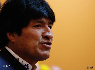 Boliviens Präsident Evo Morales, Foto: ap