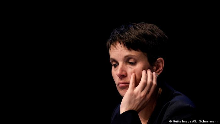 Ex-AfD head Frauke Petry (Getty Images/S. Schuermann)