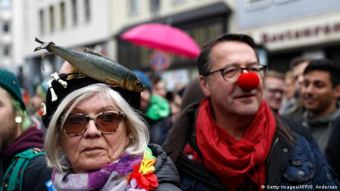 Köln Demonstration gegen AfD Parteitag (Getty Images/AFP/O. Andersen)