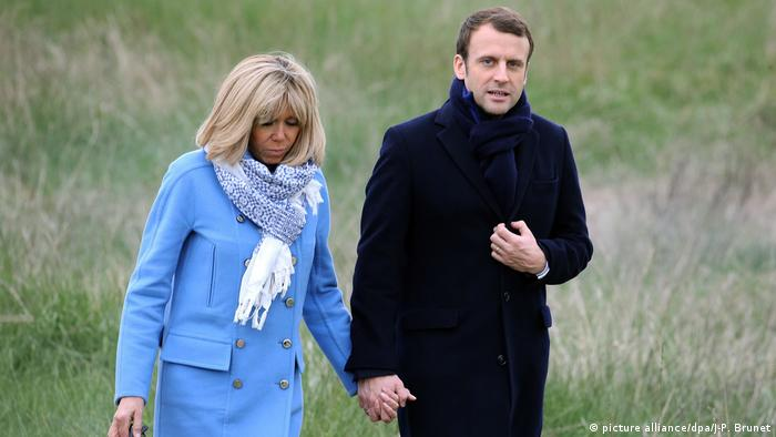 Emmanuel Macron Frankreich (picture alliance/dpa/J-P. Brunet)