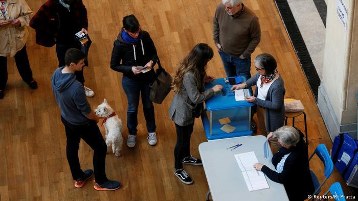 Frankreich Präsidentschaftswahl (Reuters/R. Pratta)