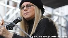 USA Women's March Los Angeles mit Barbra Streisand