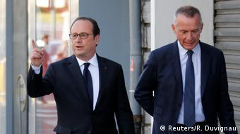 Frankreich Präsidentschaftswahl Francois Hollande (Reuters/R. Duvignau)