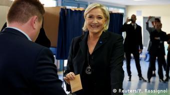 Marine Le Pen (Reuters/P. Rossignol)