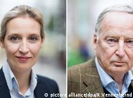 Еліс Вайдель (л.) та Александер Ґауланд (п.) очолять виборчий список АдН
