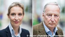 AfD Bundesparteitag Alexander Gauland Alice Weidel