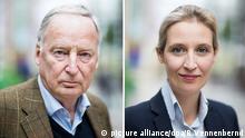AfD Bundesparteitag Alice Weidel , Alexander Gauland