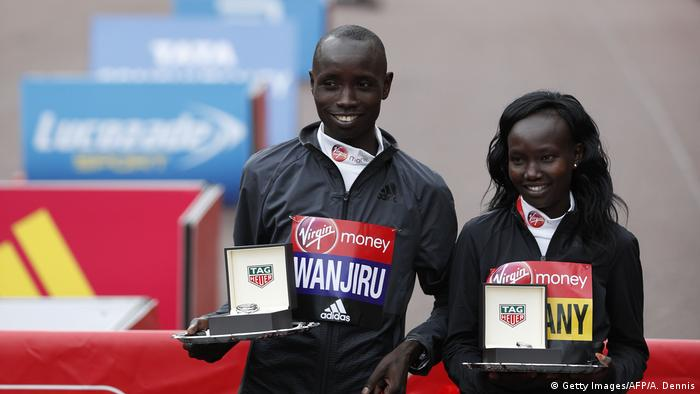 Großbritannien London Marathon (Getty Images/AFP/A. Dennis)