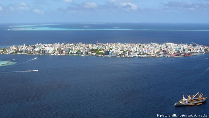 Вид на столицю Мальдівів - місто Мале (архівне фото)