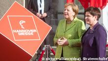 Hannover Messe 2017 Angela Merkel (picture-alliance/dpa/J. Stratenschulte)