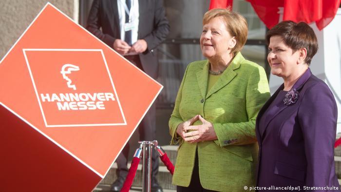 Hannover Messe 2017 Angela Merkel