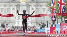 23.04.2017 Britain Athletics - London Marathon - London - 23/4/17 Kenya's Mary Jepkosgei Keitany wins the Women's Elite race Action Images via Reuters / Matthew Childs Livepic