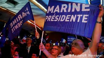 Frankreich Präsidentschaftswahl (Reuters/P. Rossignol)