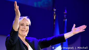 Präsidentschaftskandidat Marine Le Pen (Getty Images/J. J. Mitchell)