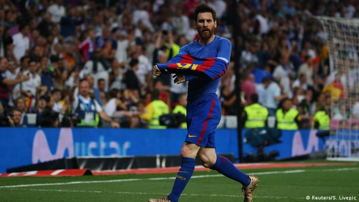 Real Madrid vs. Barcelona Lionel Messi (Reuters/S. Livepic)
