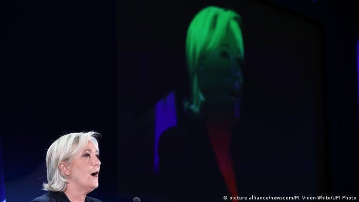 Präsidentschaftswahl in Frankreich Marine Le Pen