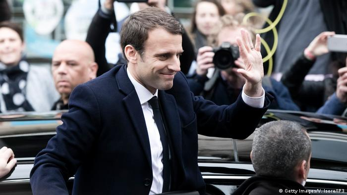 Präsidentschaftswahl in Frankreich Emmanuel Macron