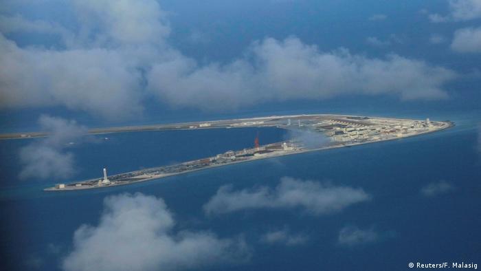 Südchinesisches Meer Spratly-Inseln (Reuters/F. Malasig)