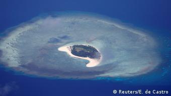 An uninhabited island in the Spratly Archipelago, South China Sea