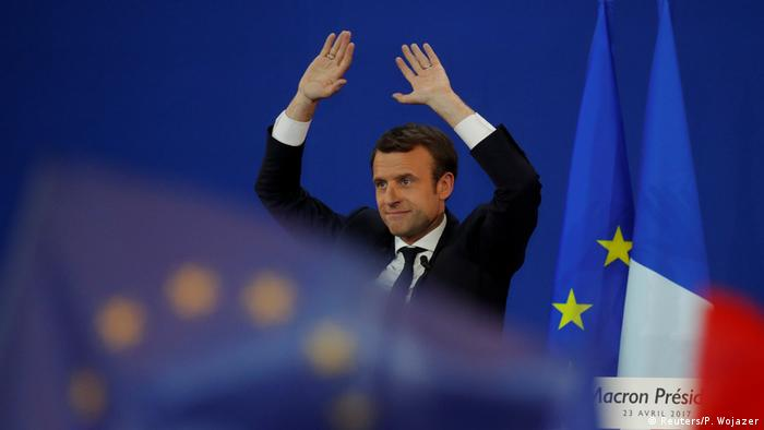 Frankreich Wahl Emmanuel Macron Rede in Paris