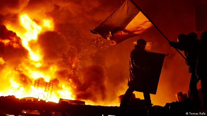 Ukraine EuroMaiden Revolution in Kiev (DW/J. Tomes)
