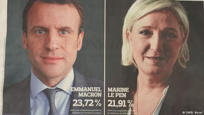 Frankreich Wahlergebnis, Figaro: Die Rechte K.O.