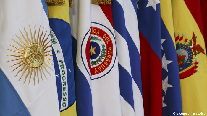 Freihandel - Staatenbund Mercosur