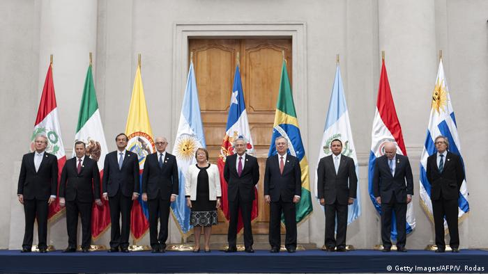 Freihandel - Staatenbund Mercosur (Getty Images/AFP/V. Rodas)