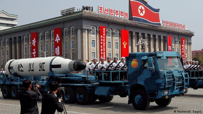 Nordkorea Pukkuksong balistische Rakete