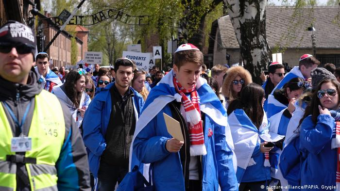 Poeln Auschwitz March of the Living (picture-alliance/PAP/A. Grygiel)