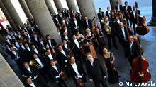 +++Nur im Rahmen der abgesprochenen Berichterstattung zu verwenden!+++ Im Rahmen des Duales Jahr Mexiko-Deutschland, die Philharmonie von Jalisco wird in Berlin spielen. DW spricht mit dem Dirigent Marco Parisotto. (c) Marco Ayala
