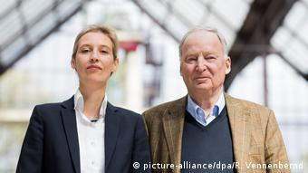 Alice Weidel and Alexander Gauland (picture-alliance/dpa/R. Vennenbernd)