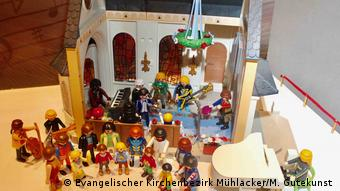 Playmobil figurines were gathered through donations and Ebay purchases (Photo: Evangelischer Kirchenbezirk Mühlacker/M. Gutekunst )