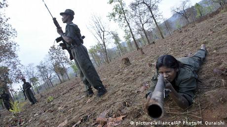 Indien Maoisten (picture-alliance/AP Photo/M. Quraishi)