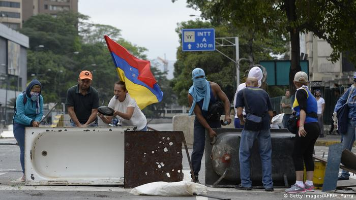 Venezuela Protest (Getty Images/AFP/F. Parra)