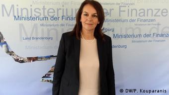 Deutschland Zusammenarbeit der Finanzministerien von Brandenburg und Griechenland zur Bekämpfung von Steuerhinterziehung (DW/P. Kouparanis)