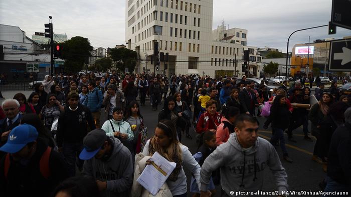 Chile Erdbeben in Vina del Mar (picture-alliance/ZUMA Wire/Xinhua/Agenciauno)