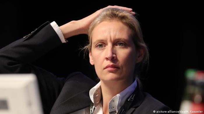 Deutschland Alice Weidel AfD (picture-alliance/dpa/M. Kappeler)